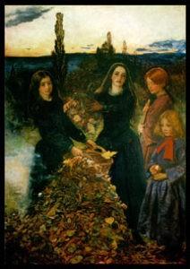 """""""Autumn Leaves"""" by John Everett Millias"""