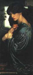 """""""Proserpine"""" by Dante Gabriel Rosetti"""