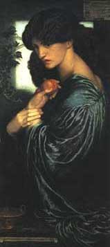 """""""Proserpine"""" by Dante Gabriel Rossetti"""